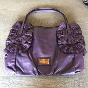 Handbags - Purple Leather Shoulder Bag
